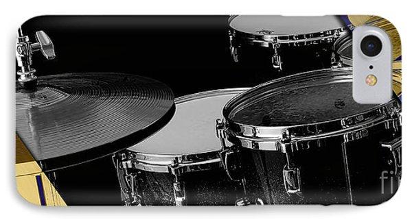 Drum Set Collection IPhone Case