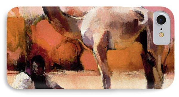Desert iPhone 8 Case - dsu and Said - Rann of Kutch  by Mark Adlington