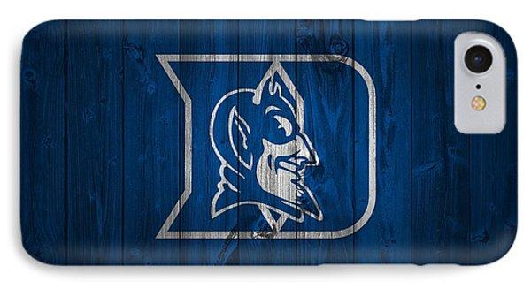 Duke Blue Devils Barn Door IPhone Case