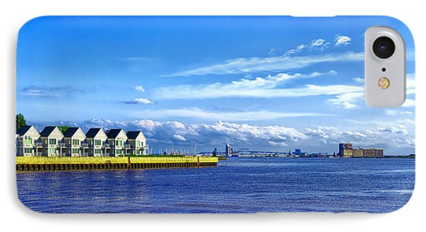 Duluth Minnesota Harbor IPhone Case