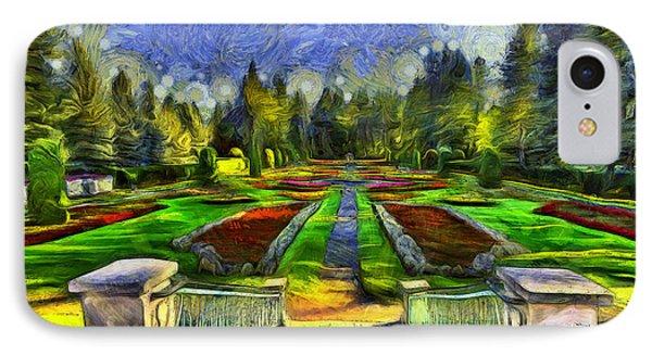 Duncan Gardens Van Gogh Style IPhone Case