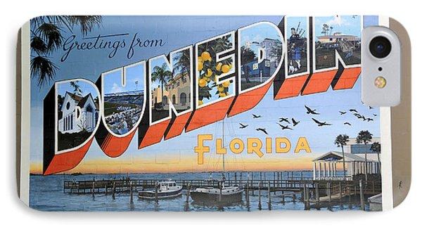 Dunedin Florida Post Card IPhone Case