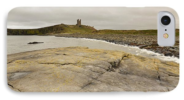 Castle iPhone 8 Case - Dunstanburgh Castle by Smart Aviation