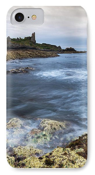 Castle iPhone 8 Case - Dunure Castle Scotland  by Mark Mc neill