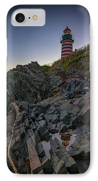 Dusk At West Quoddy Head Lighthouse IPhone Case