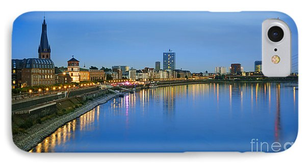 Dusseldorf Skyline  IPhone Case