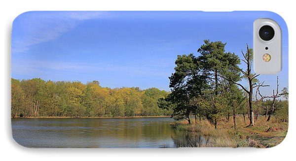 Dutch Countryside With Lakes, Trees, Meadows IPhone Case