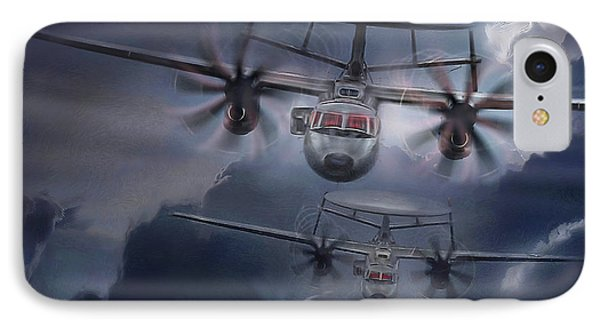 E-2d Hawkeye IPhone Case