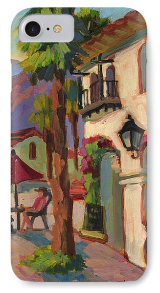 Early Morning Coffee At Old Town La Quinta IPhone Case
