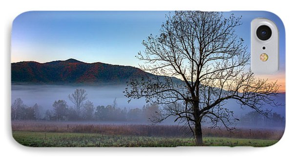 Early Morning Mist In Cades Cove IPhone Case