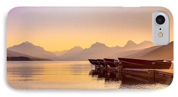 Early Morning On Lake Mcdonald IPhone Case