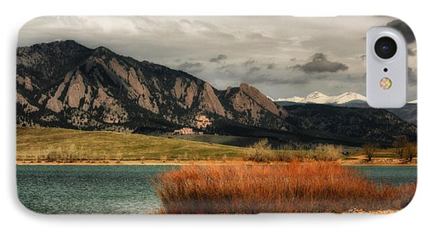 Early Snow On Fall IPhone Case