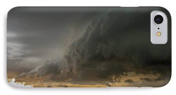 Nebraskasc iPhone 8 Case - Eastern Nebraska Moderate Risk Chase Day Part 2 004 by NebraskaSC