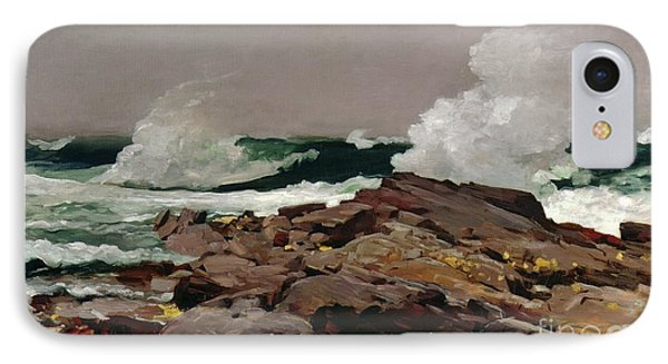 Sea iPhone 8 Case - Eastern Point by Winslow Homer