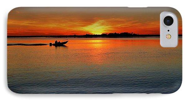 Easy Sunday Sunset IPhone Case