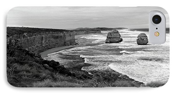 Edge Of A Continent Bw IPhone Case