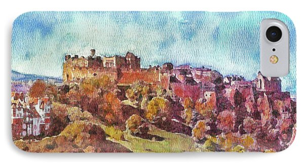 Edinburgh Skyline No 1 IPhone Case