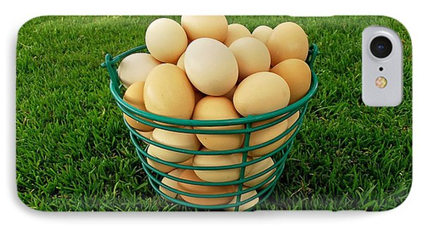 Eggs In A Basket IPhone Case