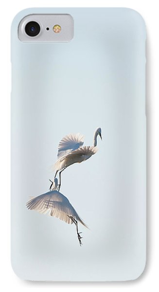 Egret Dance 2 IPhone Case