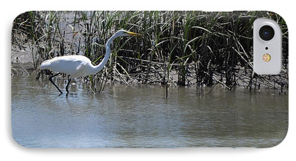 Egret 2 IPhone Case