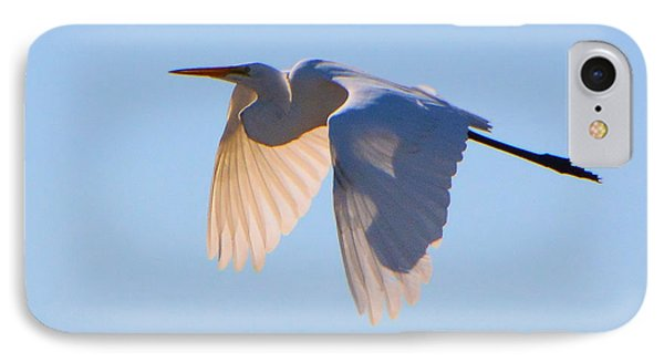 Egret In Silhouette IPhone Case