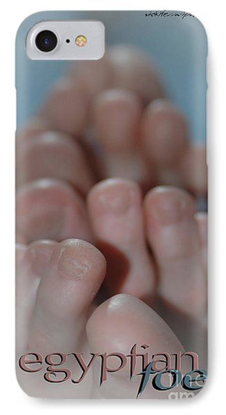 Egyptian Toes IPhone Case