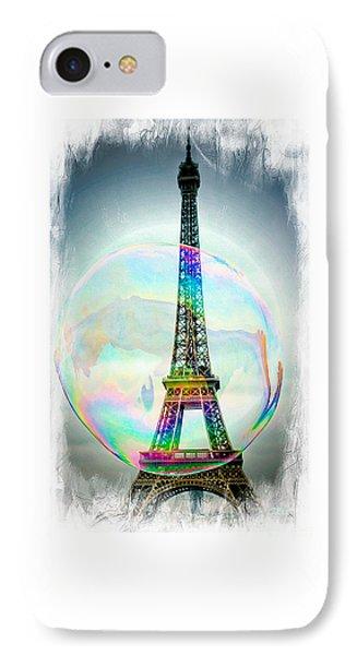 Eiffel Tower Bubble IPhone Case