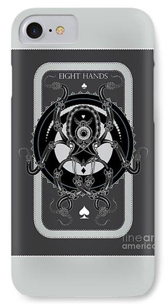 Eight Hands IPhone Case
