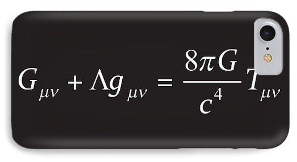 Einstein Field Equation Formula IPhone Case