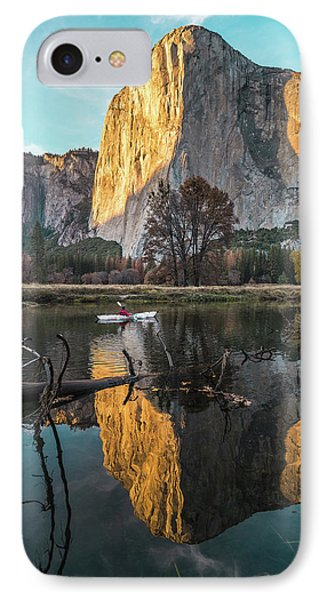 El Capitan Sunset IPhone Case