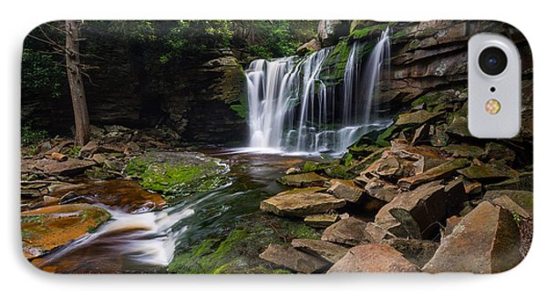 Elakala Falls On Shays Run Blackwater Falls State Park IPhone Case