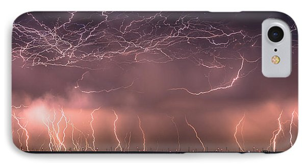 Electric Panoramic V IPhone Case