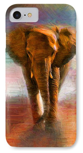 Elephant 1 IPhone Case