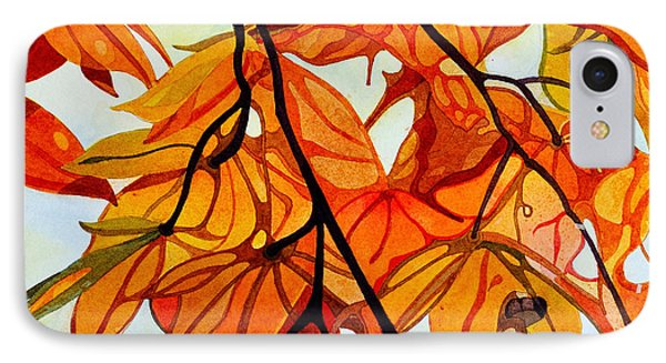 Elegance Of Maple In Autumn IPhone Case