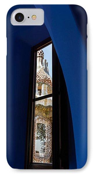 Elegant Antoni Gaudi - Inside And Outside IPhone Case