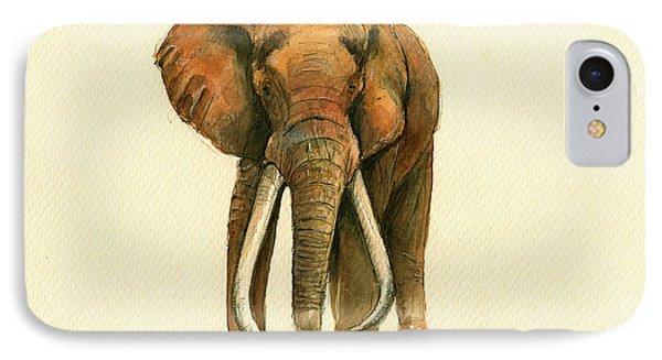 Elephant Painting        IPhone Case