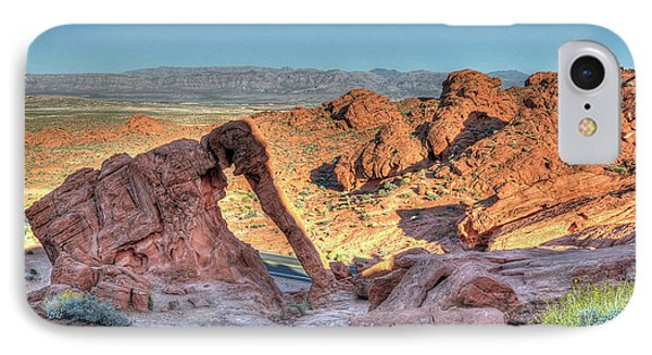 Elephant Rock - Hdr - Valley Of Fire IPhone Case