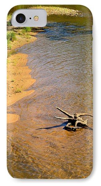 Elk River Driftwood IPhone Case