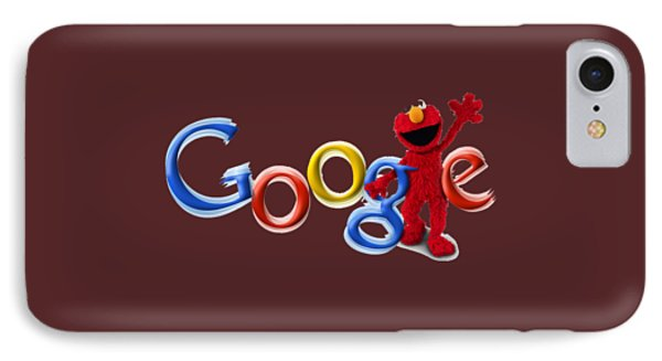 Elmo Google T-shirt IPhone Case