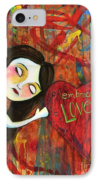Embrace Love IPhone Case