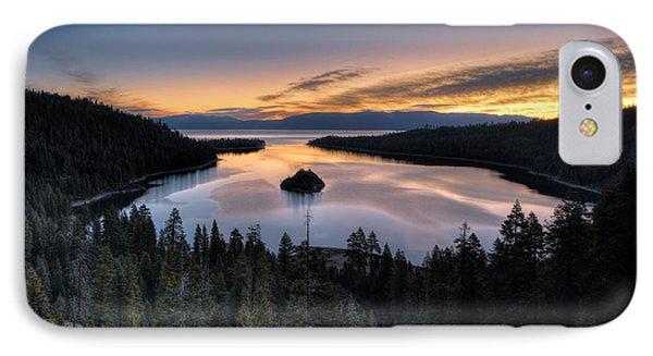 Emerald Bay Sunrise IPhone Case