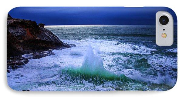 Emerald Wave IPhone Case