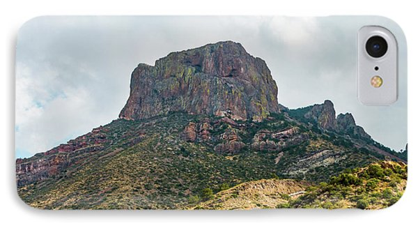 Emory Peak Chisos Mountains IPhone Case