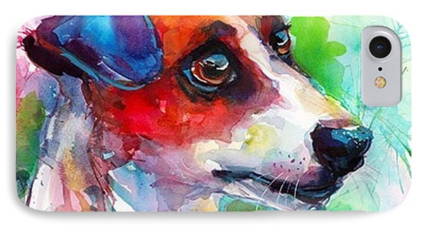 Emotional Jack Russell Terrier IPhone Case