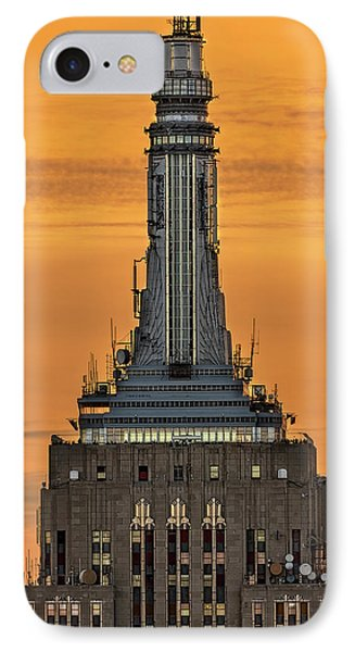Empire State Building Esb Broadcasting Nyc IPhone Case