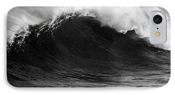 Empty Jaws Black And White IPhone Case