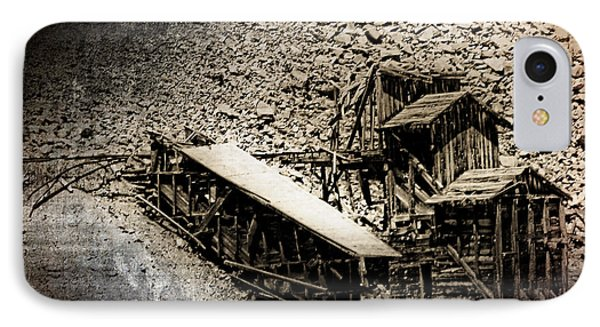 End Of The Line Mine IPhone Case
