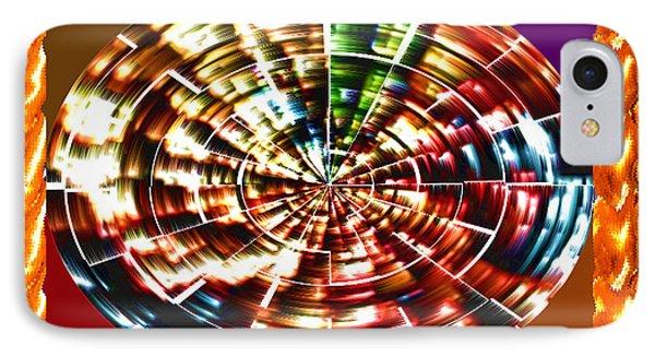 Energy Aura Cleaning Wheel In Motion Yoga Meditation Mandala By Navinjoshi At Fineartamerica.com IPhone Case