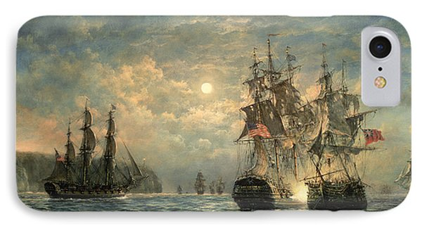 Engagement Between The 'bonhomme Richard' And The ' Serapis' Off Flamborough Head IPhone Case