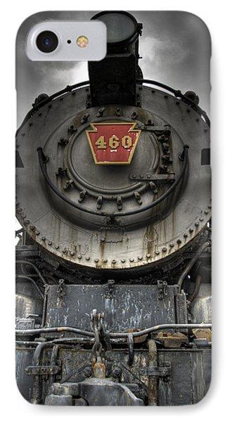 Train iPhone 8 Case - Engine 460 Front And Center by Scott Wyatt